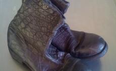 Продано. Isaac Sellam обувь из кожи крокодила